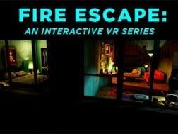 Nová herní série Fire Escape: An Interactive VR Series