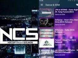 Aplikace NCS music
