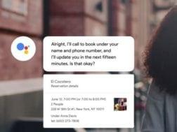 Google Duplex jako osobní asistentka, která dokáže vyplnit formulář