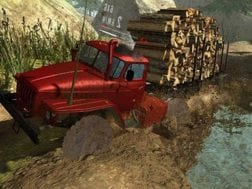 Hra Truck simulator offroad 4