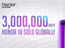 Honor 10 překvapil 3 milióny prodaných telefonu