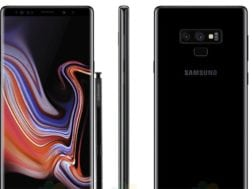 Samsung Galaxy Note 9 v černé barvě je tady