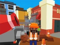 Hra Grand cube city: Sandbox life simulator
