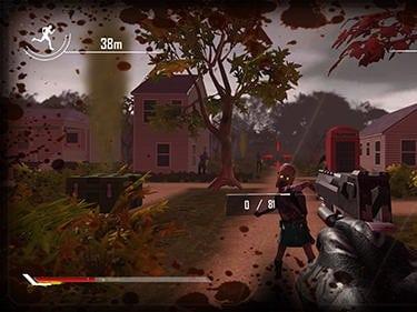 Behind zombie lines