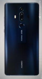 Huawei Mate 20 - zadní strana