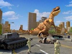 Hra Dino Rampage 3D