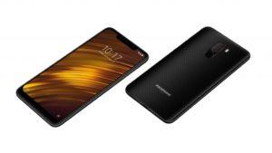 Xiaomi Pocophone F1 z obou stran