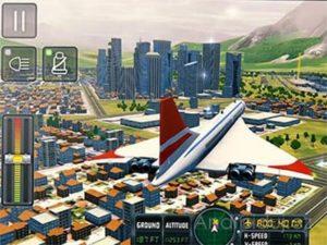 Android hra Flight sim 2018