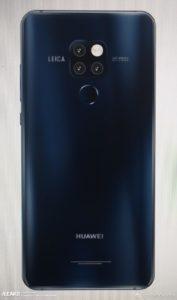 Huawei Mate 20 Pro - zadní strana