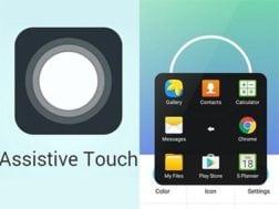 Aplikace Assistive Touch