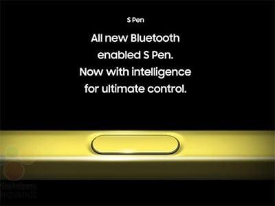 Galaxy Note9's