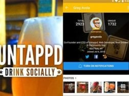 Aplikace Untappd - Discover Beer