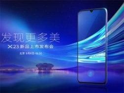 Nový telefon Vivo X23 dorazí na trh 6. září