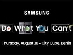 Samsung si rezervoval tiskovou konferenci na IFA a to 30. srpna