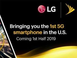 5G chytrý telefon