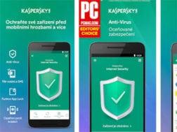 Aplikace Kaspersky Mobile Antivirus