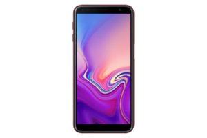 Samsung Galaxy J6+ přední strana