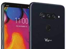 LG V40 na Geekbench s Android 9 Pie