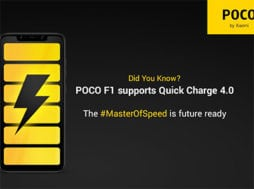 Xiaomi Pocophone F1 obdrží video mód 4K@60FPS