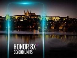 Honor 8X se představí v Praze 11. října