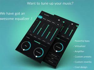 Android aplikace Musicana Music Player