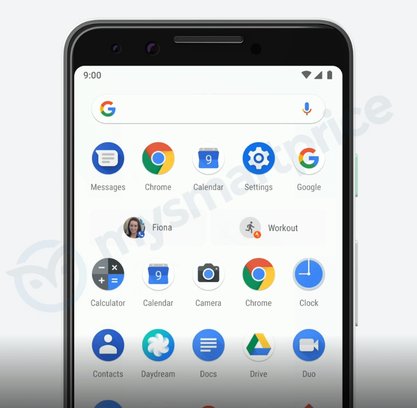 Google Pixel 3 ikonky