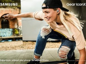 Sluchátka Samsung Gear Icon X