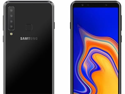 Samsung Galaxy A9 2018 telefon - koncept