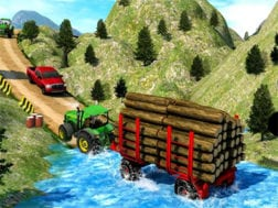 Hra Drive Tractor Offroad Cargo