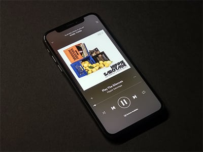 Spotify aplikace