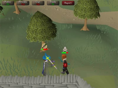 Android MMORPG hra Old School Runescape