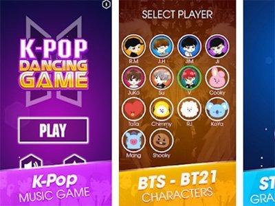 Android oddechová hra Kpop Dancing Songs