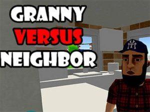 Android logická hra Granny versus neighbor