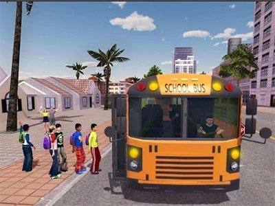 Android hra School Bus Game Pro