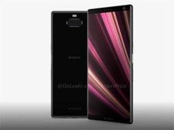 Sony Xperia XA3 na videu
