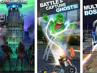 Android hra Ghostbusters World