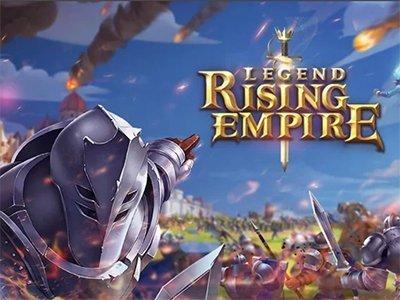Android strategická hra Legend Rising Empire