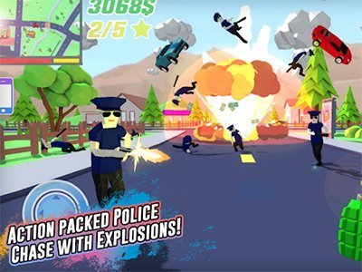 Android hra pro více hráčů Dude Theft Wars