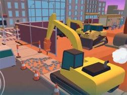 Hra Dig in: An excavator game