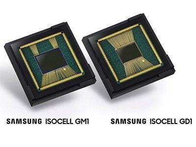 Samsung obrazové senzory