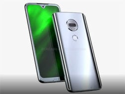 Rendery telefonu Moto G7
