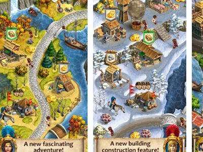Android strategická hra Roads of Rome: New Generation 2