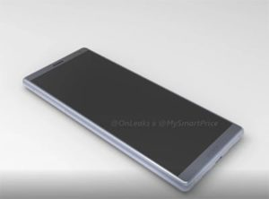5K rendery telefonu Sony Xperia XA3