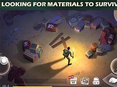 Android akční hra Desert storm:Zombie Survival