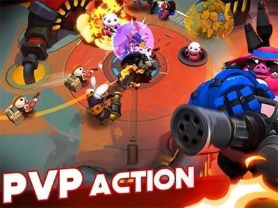 Android akční hra WILD League