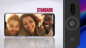 LG V40 selfie kamera standard