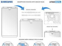 Nový patent od Samsungu pro umístění senzorů