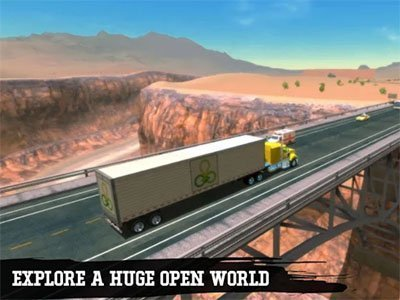 Android hra Truck Simulator 19