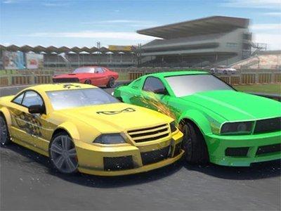 Android hra Beach Car Racing 2018