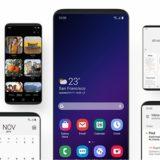 Reklamní video na Samsung One UI
